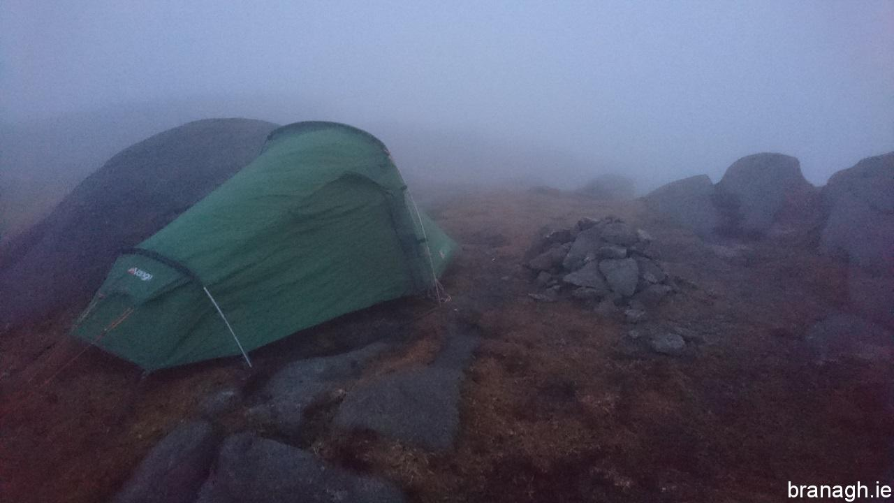 Slieve Corragh Summit Camp 13/04/18