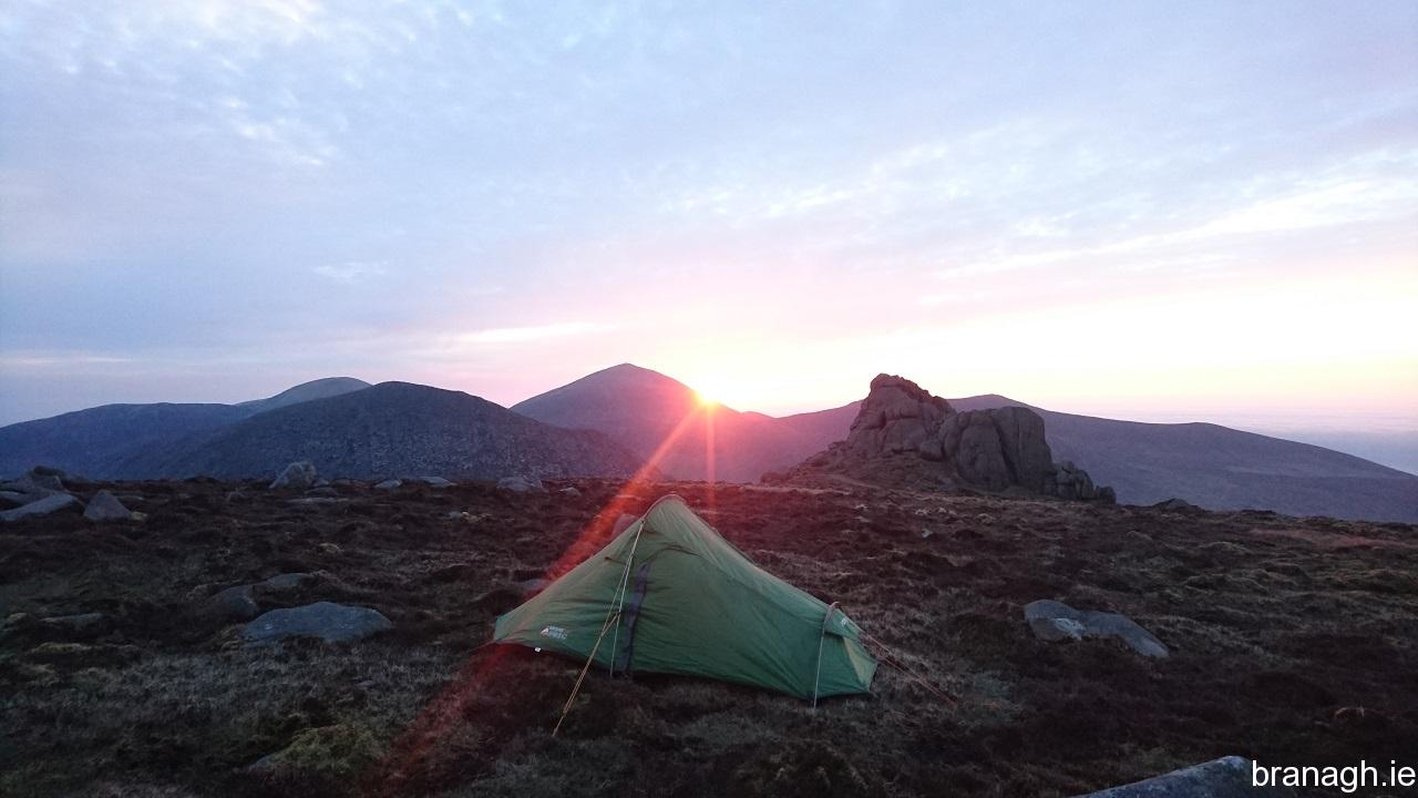 Slieve Binnian North Tor Camp 06/05/18